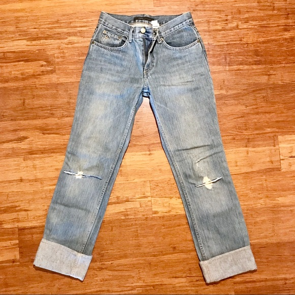 Marc Jacobs Denim - Marc Jacobs Rolled Distressed Jeans